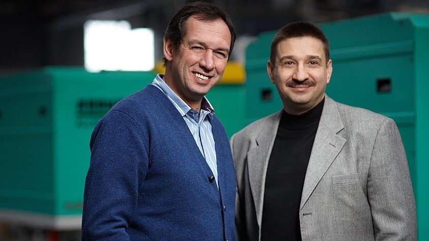 Vladimir Lempert, founder and CEO, and Stanislav Menyalo, COO