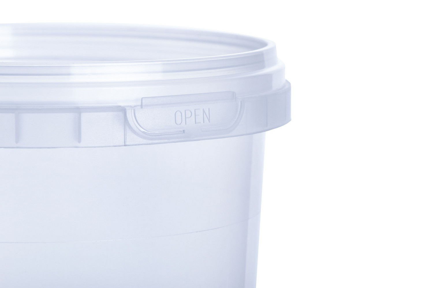 Vitalplast high-quality plastic containers for food products 350 ml manufactured Ukraine soups
